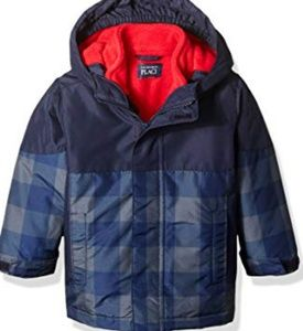 The children Place Boys Toddler 3-1 Jacket size 4T